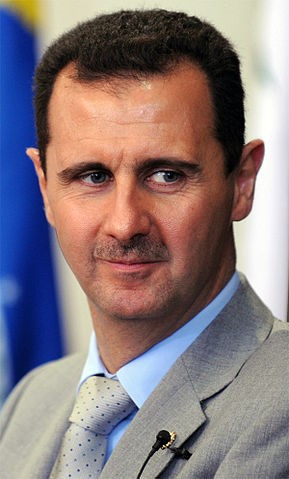By Bashar_al-Assad.jpg: Fabio Rodrigues Pozzebom / ABrderivative work: César (talk) - Bashar_al-Assad.jpg, CC BY 3.0 br, https://commons.wikimedia.org/w/index.php?curid=16144552