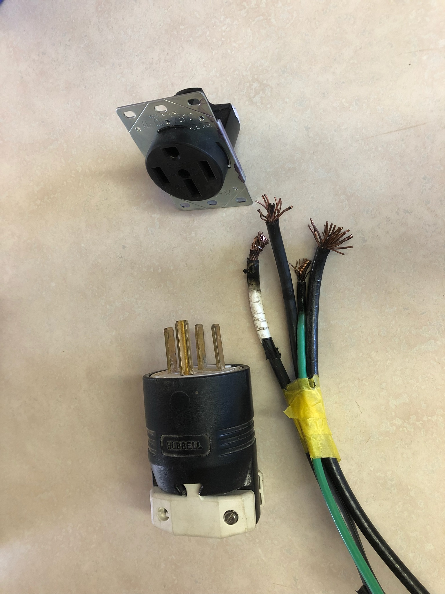 Electric Plug Wiring